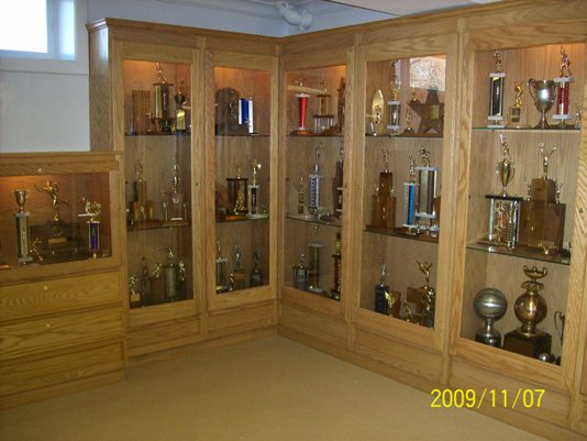 New Completed Trophy Cases